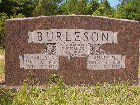 BURLESON, ANNES M - Columbia County, Arkansas | ANNES M BURLESON - Arkansas Gravestone Photos