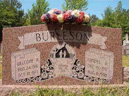 BURLESON, WELCOME R - Columbia County, Arkansas | WELCOME R BURLESON - Arkansas Gravestone Photos