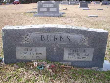 BURNS, EFFIE A - Columbia County, Arkansas | EFFIE A BURNS - Arkansas Gravestone Photos