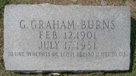 BURNS, G GRAHAM - Columbia County, Arkansas   G GRAHAM BURNS - Arkansas Gravestone Photos