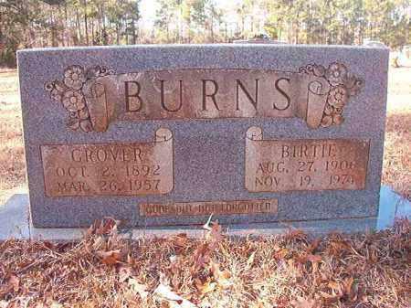 BURNS, BIRTIE - Columbia County, Arkansas | BIRTIE BURNS - Arkansas Gravestone Photos