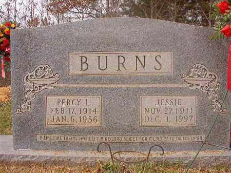 BURNS, PERCY L - Columbia County, Arkansas   PERCY L BURNS - Arkansas Gravestone Photos