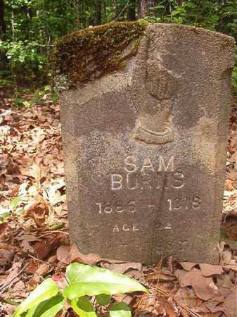 BURNS, SAM - Columbia County, Arkansas | SAM BURNS - Arkansas Gravestone Photos
