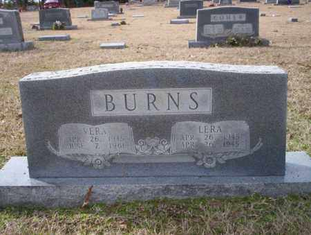 BURNS, LERA - Columbia County, Arkansas   LERA BURNS - Arkansas Gravestone Photos