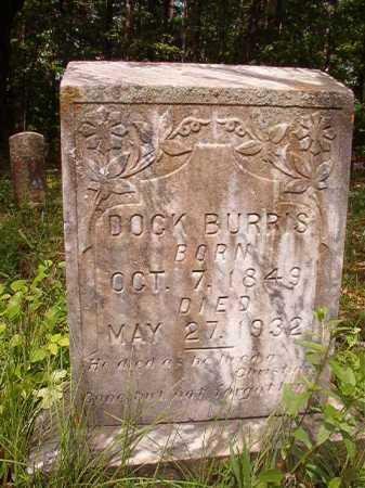 BURRIS, DOCK - Columbia County, Arkansas | DOCK BURRIS - Arkansas Gravestone Photos