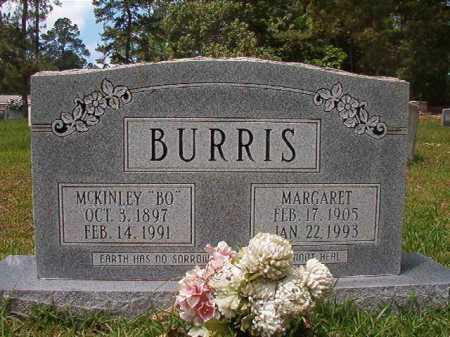 "BURRIS, MCKINLEY ""BO"" - Columbia County, Arkansas | MCKINLEY ""BO"" BURRIS - Arkansas Gravestone Photos"