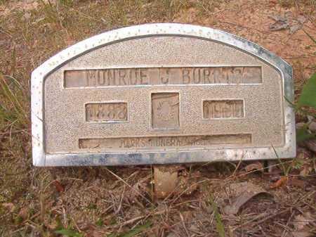 BURRIS, MONROE J - Columbia County, Arkansas | MONROE J BURRIS - Arkansas Gravestone Photos