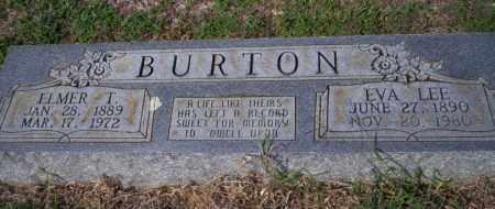 BURTON, EVA - Columbia County, Arkansas | EVA BURTON - Arkansas Gravestone Photos