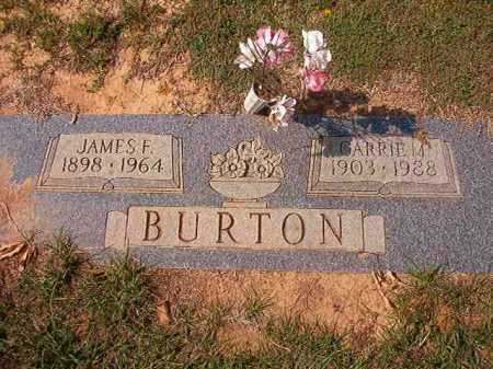 BURTON, CARRIE M - Columbia County, Arkansas | CARRIE M BURTON - Arkansas Gravestone Photos