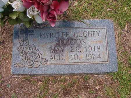 BURTON, MYRTLEE - Columbia County, Arkansas | MYRTLEE BURTON - Arkansas Gravestone Photos