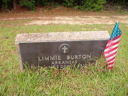 BURTON (VETERAN WWI), LIMMIE - Columbia County, Arkansas | LIMMIE BURTON (VETERAN WWI) - Arkansas Gravestone Photos