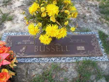 BUSSELL, GLENN - Columbia County, Arkansas   GLENN BUSSELL - Arkansas Gravestone Photos