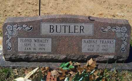 FRANKS BUTLER, NADINE - Columbia County, Arkansas | NADINE FRANKS BUTLER - Arkansas Gravestone Photos
