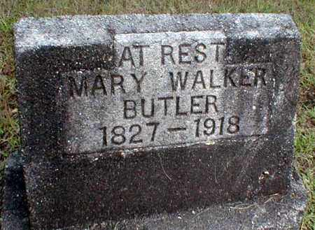 WALKER BUTLER, MARY JANE - Columbia County, Arkansas | MARY JANE WALKER BUTLER - Arkansas Gravestone Photos