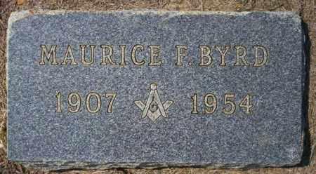 BYRD, MAURICE - Columbia County, Arkansas   MAURICE BYRD - Arkansas Gravestone Photos