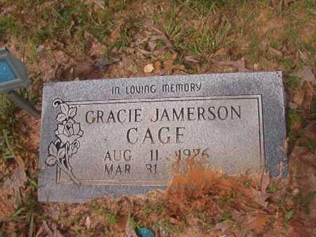 CAGE, GRACIE - Columbia County, Arkansas | GRACIE CAGE - Arkansas Gravestone Photos