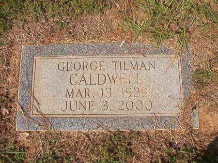 CALDWELL, GEORGE TILMAN - Columbia County, Arkansas | GEORGE TILMAN CALDWELL - Arkansas Gravestone Photos