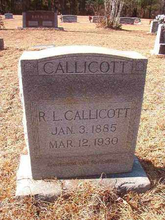 CALLICOTT, R L - Columbia County, Arkansas | R L CALLICOTT - Arkansas Gravestone Photos