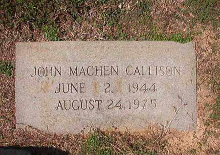 CALLISON, JOHN MACHEN - Columbia County, Arkansas | JOHN MACHEN CALLISON - Arkansas Gravestone Photos