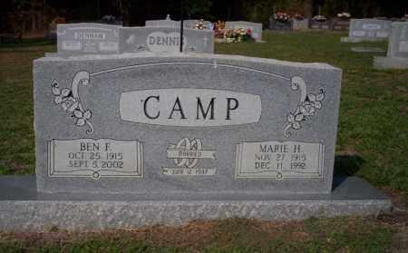 CAMP, MARIE H - Columbia County, Arkansas | MARIE H CAMP - Arkansas Gravestone Photos