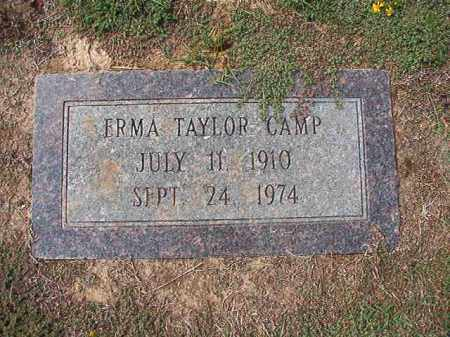 TAYLOR CAMP, ERMA - Columbia County, Arkansas | ERMA TAYLOR CAMP - Arkansas Gravestone Photos