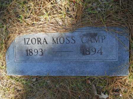 CAMP, IZORA MOSS - Columbia County, Arkansas | IZORA MOSS CAMP - Arkansas Gravestone Photos