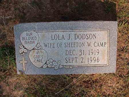 CAMP, LOLA J - Columbia County, Arkansas | LOLA J CAMP - Arkansas Gravestone Photos