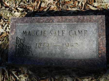 SALE CAMP, MAGGIE - Columbia County, Arkansas | MAGGIE SALE CAMP - Arkansas Gravestone Photos