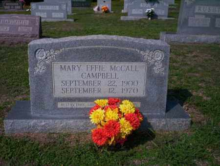 CAMPBELL, MARY EFFIE - Columbia County, Arkansas | MARY EFFIE CAMPBELL - Arkansas Gravestone Photos
