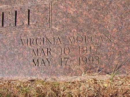 MORGAN CAMPBELL, VIRGINIA - Columbia County, Arkansas | VIRGINIA MORGAN CAMPBELL - Arkansas Gravestone Photos