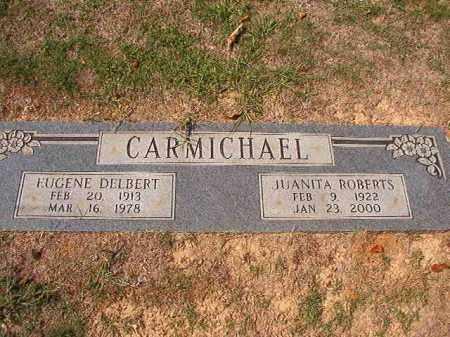 ROBERTS CARMICHAEL, JUANITA - Columbia County, Arkansas | JUANITA ROBERTS CARMICHAEL - Arkansas Gravestone Photos