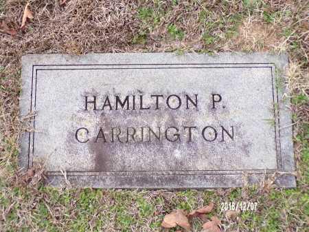 CARRINGTON, HAMILTON P - Columbia County, Arkansas | HAMILTON P CARRINGTON - Arkansas Gravestone Photos