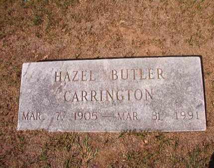 CARRINGTON, HAZEL - Columbia County, Arkansas   HAZEL CARRINGTON - Arkansas Gravestone Photos