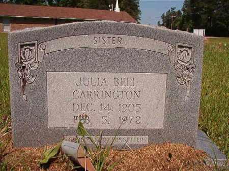 CARRINGTON, JULIA BELL - Columbia County, Arkansas | JULIA BELL CARRINGTON - Arkansas Gravestone Photos