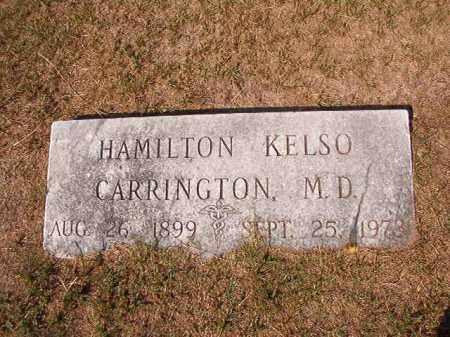 CARRINGTON, MD, HAMILTON KELSO - Columbia County, Arkansas | HAMILTON KELSO CARRINGTON, MD - Arkansas Gravestone Photos