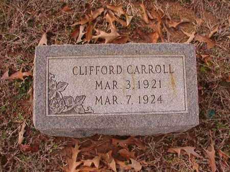 CARROLL, CLIFFORD - Columbia County, Arkansas   CLIFFORD CARROLL - Arkansas Gravestone Photos