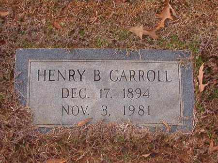 CARROLL, HENRY B - Columbia County, Arkansas   HENRY B CARROLL - Arkansas Gravestone Photos