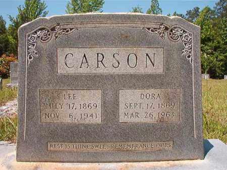 CARSON, DORA - Columbia County, Arkansas | DORA CARSON - Arkansas Gravestone Photos