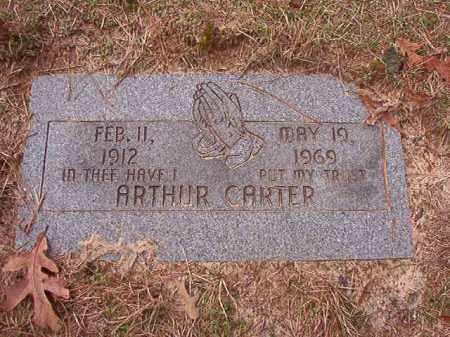 CARTER, ARTHUR - Columbia County, Arkansas | ARTHUR CARTER - Arkansas Gravestone Photos