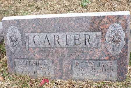 CARTER, DEBRAH C - Columbia County, Arkansas | DEBRAH C CARTER - Arkansas Gravestone Photos