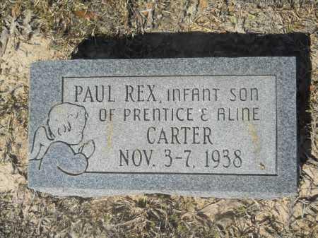 CARTER, PAUL REX - Columbia County, Arkansas | PAUL REX CARTER - Arkansas Gravestone Photos