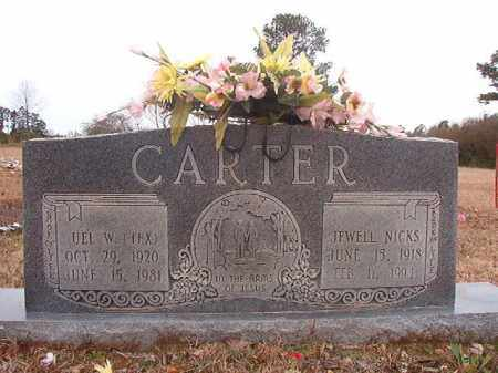 CARTER, JEWELL - Columbia County, Arkansas | JEWELL CARTER - Arkansas Gravestone Photos