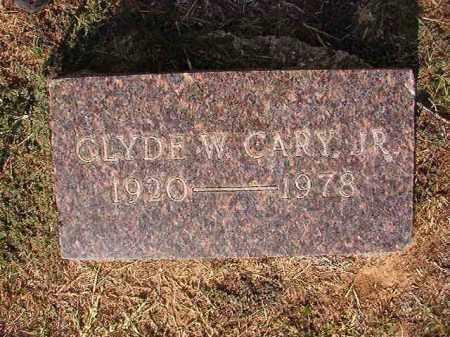 CARY, JR, CLYDE W - Columbia County, Arkansas | CLYDE W CARY, JR - Arkansas Gravestone Photos