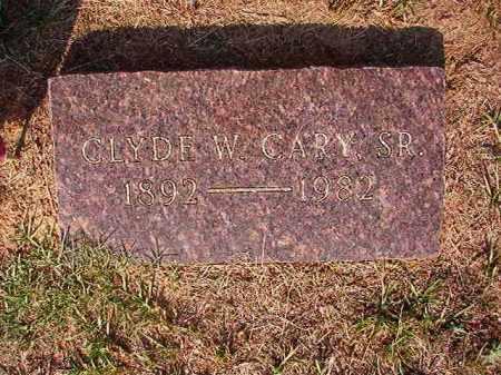 CARY, SR, CLYDE W - Columbia County, Arkansas | CLYDE W CARY, SR - Arkansas Gravestone Photos
