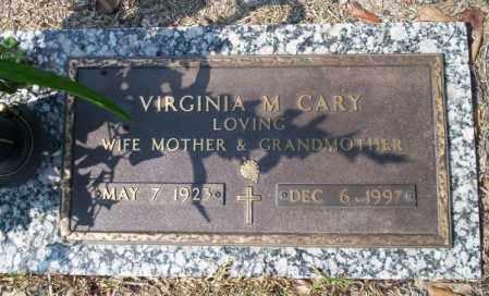 CARY, VIRGINIA M - Columbia County, Arkansas   VIRGINIA M CARY - Arkansas Gravestone Photos