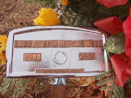 CASWELL, LARRY EDWIN - Columbia County, Arkansas | LARRY EDWIN CASWELL - Arkansas Gravestone Photos