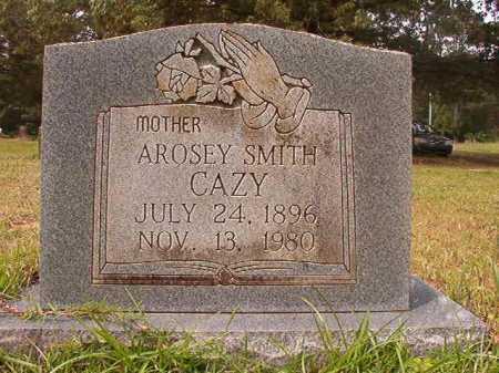 SMITH CAZY, AROSEY - Columbia County, Arkansas | AROSEY SMITH CAZY - Arkansas Gravestone Photos