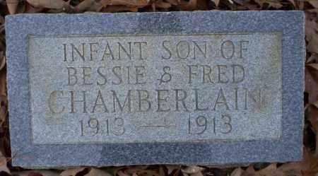 CHAMBERLAIN, INFANT SON - Columbia County, Arkansas | INFANT SON CHAMBERLAIN - Arkansas Gravestone Photos