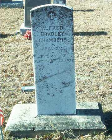 CHAMBERS (VETERAN), ALFRED BRADLEY - Columbia County, Arkansas | ALFRED BRADLEY CHAMBERS (VETERAN) - Arkansas Gravestone Photos