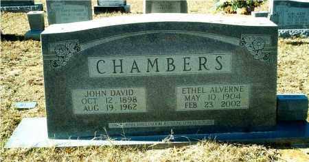 CHAMBERS, JOHN DAVID - Columbia County, Arkansas | JOHN DAVID CHAMBERS - Arkansas Gravestone Photos